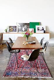 rug in dining room best 25 rug under dining table ideas on pinterest dining table