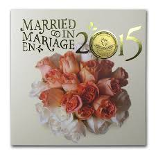 wedding gift amount canada 2015 canada 5 coin wedding gift set gold silver prices