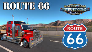 Truck Route Maps Ats Route 66 Arizona Dlc Youtube