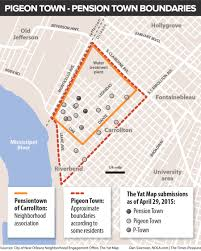 Map Of New Orleans Airport by Pigeon Town Or Pension Town In One New Orleans Neighborhood That