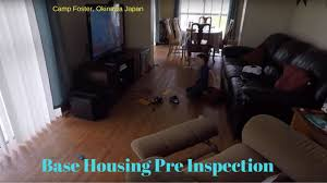 Home Inspection Checklist For Foster Care by Okinawa Japan Housing Pre Inspection Moving To The Usa Youtube