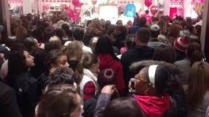 victoria secret black friday black friday shoppers swarm deptford mall for deals starting at
