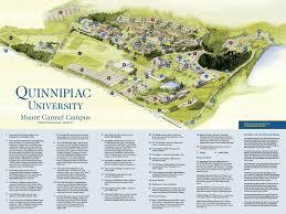 University Of Virginia Campus Map by Mount Carmel Campus Map Quinnipiac University Connecticut