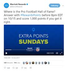 Ohio travel rewards images Easy marriott rewards points via marriott the nfl and twitter jpg