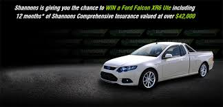 Ute Memes - win a ford falcon xr6 ute courtesy of shannons insurance