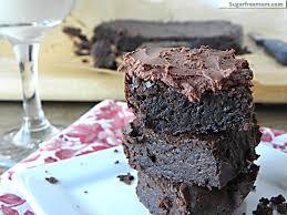 fudgey flourless chocolate brownies gluten dairy u0026 sugar free