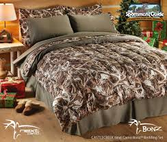 Realtree Camo Duvet Cover Next Camo Bedding From Castlecreek Now Available At The Sportsmans