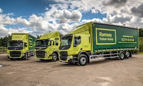 new volvo lorry ramsey timber group beds in new volvo trucks fleet uk haulier