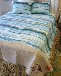 Beach Themed Comforter Sets King Ocean Themed Baby Blankets Ocean Art Quilt By Evangelina Beach