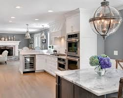 grey and white kitchen home decor gray kitchens accent color ideas