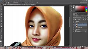 tutorial smudge painting indonesia smudge painting photoshop tutorial youtube