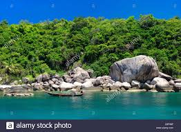 hin wong bay koh tao thailand asia beach coast stock photo