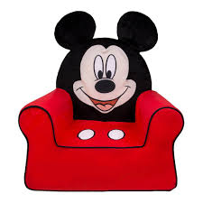 Toys R Us Toddler Chairs Amazon Com Mickey Mouse Cumfy Foam Chair Kitchen U0026 Dining