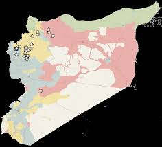 Maps Syria by Syria And Rebels Battle For Aleppo As Cease Fire Collapses The