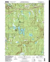Pa Road Map Promised Land Topographic Map Pa Usgs Topo Quad 41075c2