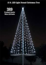 8 foot led christmas tree white lights flagpole christmas tree kit white flagpoles etc