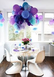 Party Decoration Ideas Peacock Birthday Party Decorations Pretty Purple Party