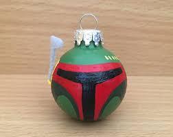 boba fett ornament etsy