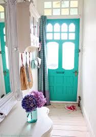 makeover reveal jade green front door home living design