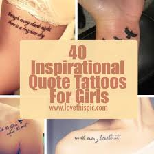 40 inspirational quote tattoos for