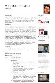 Desktop Support Resume Samples by Help Desk Analyst Resume Samples Visualcv Resume Samples Database