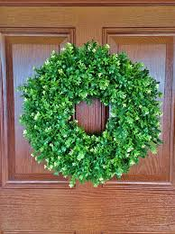 artificial boxwood wreath best 25 artificial boxwood wreath ideas on boxwood