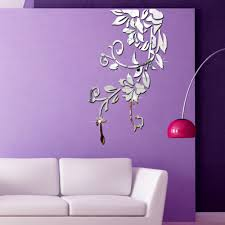 Mirror Wall Decals And Wall by 140 81cm Diy Acrylic Mirror Wall Stickers Home Decor Wall Decals