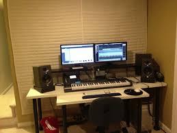 home studio workstation desk home recording studio desks desk ideas