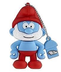 tribe smurf usb flash drive 4 gb papa smurf figure amazon uk