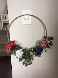 bouquet diy first attempt at diy flower hoop bouquet weddingplanning