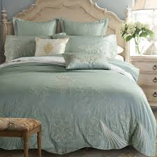 4pcs high quality bedding set embroidery european style duvet cover bedspread bedding pillow cover queen king