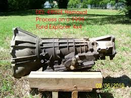 1996 ford explorer starter diy how to remove your 4r55e transmission 1996 ford explorer 4 0