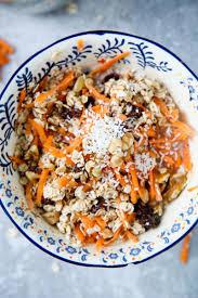 carrot cake muesli vegan gf wallflower kitchen