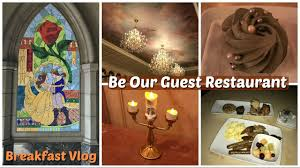 orlando florida 2017 vlog be our guest restaurant breakfast day