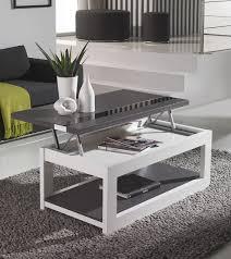 Table Basse by Belle Table Basse Relevable De Salon Style Contemporain
