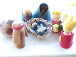 handmade felt nativity set the magic onions seasonal crafts