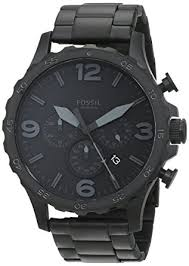 fossil steel leather bracelet images Fossil men 39 s jr1401 nate stainless steel watch with jpg