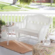White Wicker Patio Furniture Sets by Perfect White Wicker Patio Furniture Furniture Design Ideas