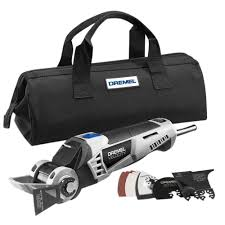 dremel velocity 7 0 amp corded 2 position oscillating tool kit for