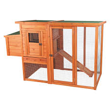 Outdoor Rabbit Hutch Plans Trixie Chicken Coop With Outdoor Run Hayneedle