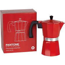 italian espresso maker 6 cup pantone italian coffee maker