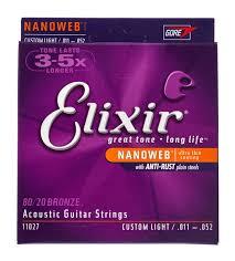 elixir nanoweb custom light acoustic thomann uk
