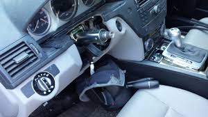 w204 steering wheel lock remove to repair diy mbworld org forums