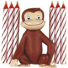 curious george cake topper curious george birthday party supplies curious george