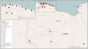 Map Of Libya Libyan Detention Centers In A State Of Chaos Xchange