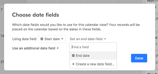 Which Date Is Advanced Calendar Features Date Ranges And Date Fields