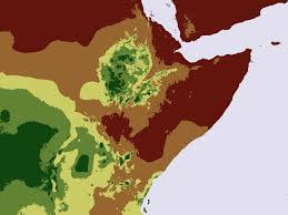 Horn Of Africa Map by Aridity Horn Of Africa Bufferthehorn