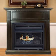 Portable Gas Fireplace by Gas Fireplaces Fireplaces The Home Depot