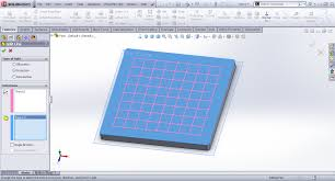 tutorial modeling checkers board in solidworks grabcad