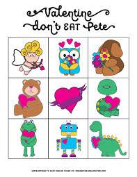 free valentine printables don u0027t eat pete